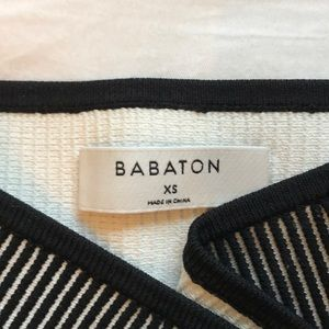 BABATON tube top🍒